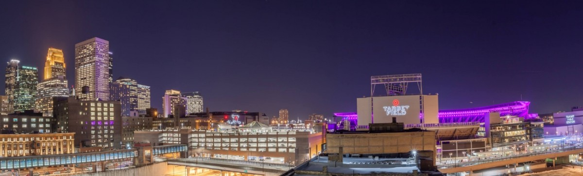 Target Field Downtown Minneapolis, MN Image by Patrick Forslund, Twin Cities Photographer